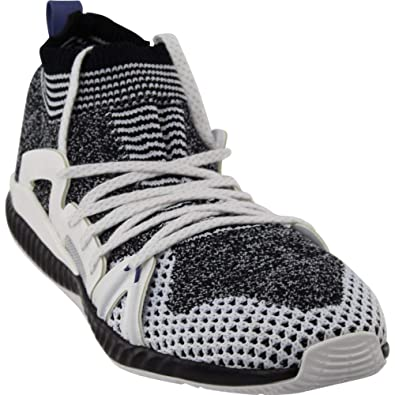 50942cedb adidas by Stella McCartney Women s Crazytrain Shoes Black White White Black  Plum