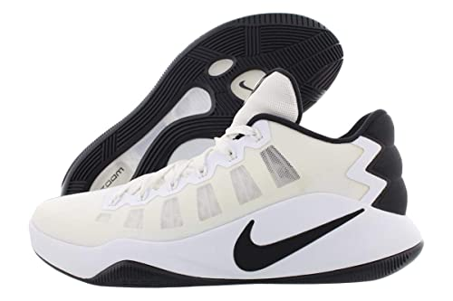 the best attitude 80cc5 359a6 Nike Hyperdunk 2016 Low Mens Basketball Trainers 844363 Sneakers Shoes (US  12, White Black 100)  Buy Online at Low Prices in India - Amazon.in