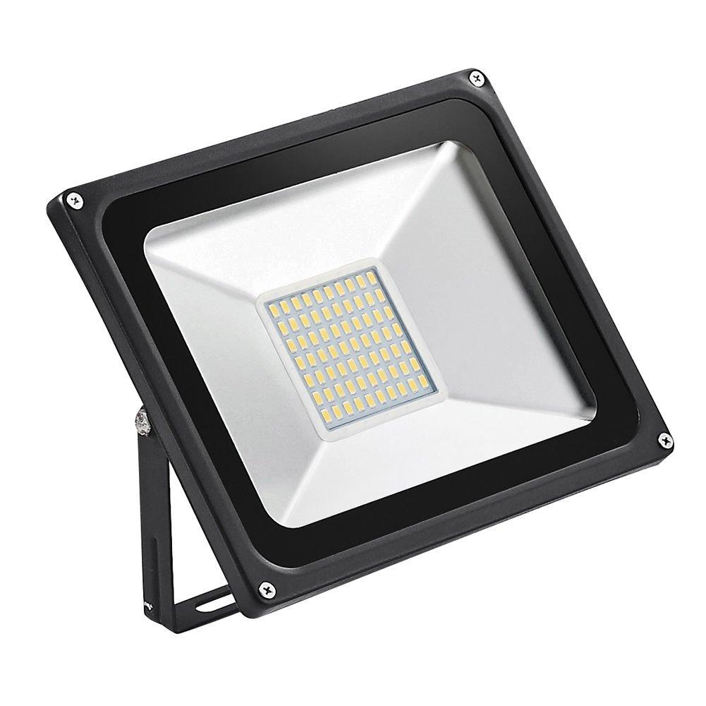 TEquem Warmweiß LED Strahler 10W 20W 30W 50W 100W 150W 200W 300W 500W LED Wandstrahler Lampe Außenstrahler Aluminium Flutlicht Fluter 220V IP65 (100W) [Energieklasse A+]