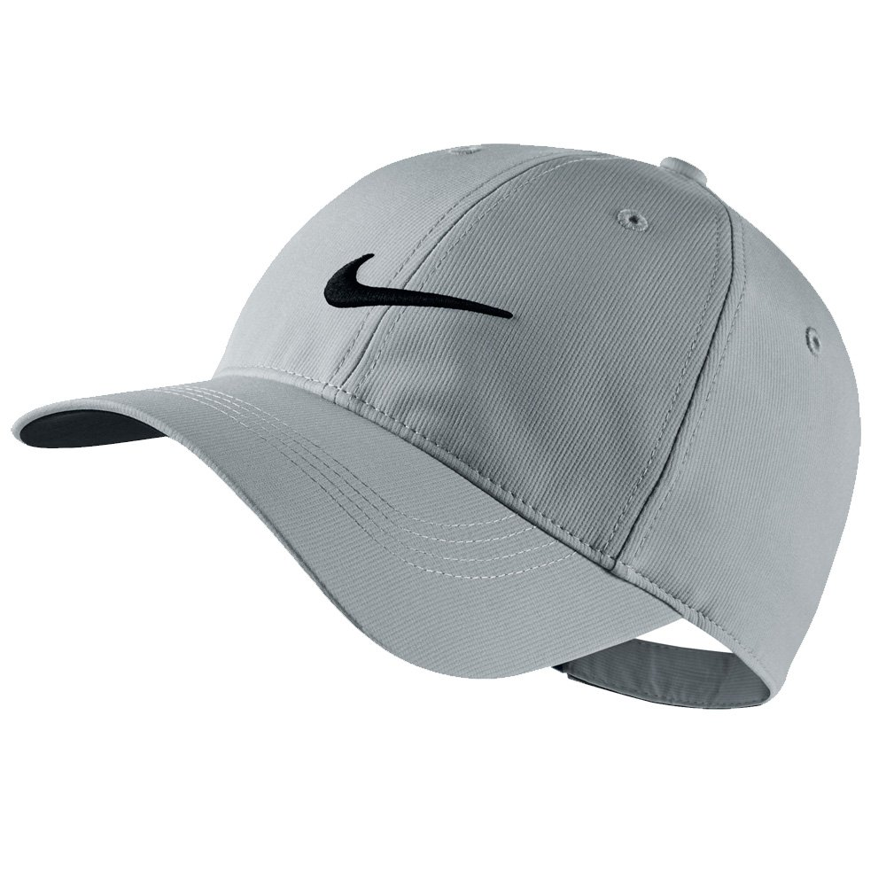 Nike Mens Golf Legacy91 Tech Adjustable Hat Wolf Grey/Black 727042-012 by Nike