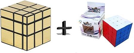 Adichai Combo Gold Mirror and 4x4 Magic Speed Cube