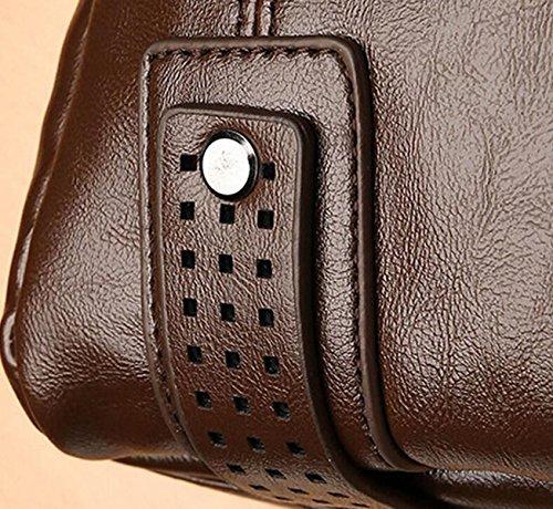 Sección Vertical M Paquete Mochila Bandolera Diagonal Paquete Paquete De Ocio De Los Hombres Grey
