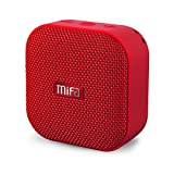 MIFA Portable Bluetooth Speaker, A1 True Wireless Stereo Speaker V4.2, IP56 Dustproof & Waterproof Fabric Design, 12-Hour Playtime, Big HD Sound & Enhanced Bass, Micro SD Card Slot, Built-in Mic, Red