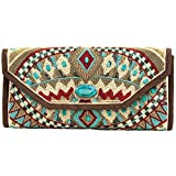 Mary Frances Turquoise Power Beads Clutch, Multi, One Size