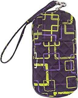 product image for Large Everything Wristlet by Stephanie Dawn, Made in USA, Quilted Cotton Fabric