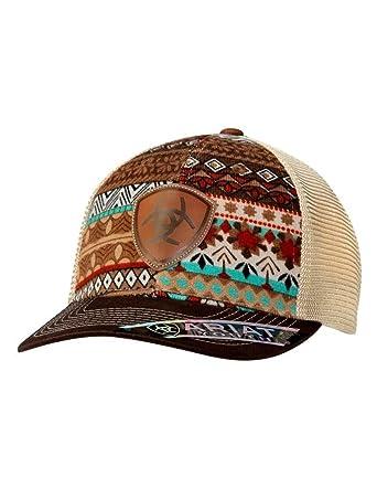 69b95419f86f4 Amazon.com  ARIAT Kid s Youth Aztec Print Cap