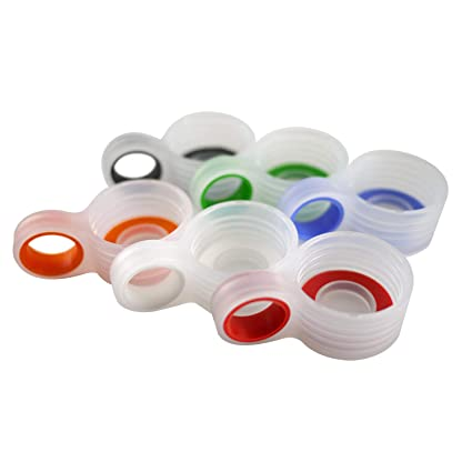 amazon com glass bottle replacement loop caps for pratico kitchen