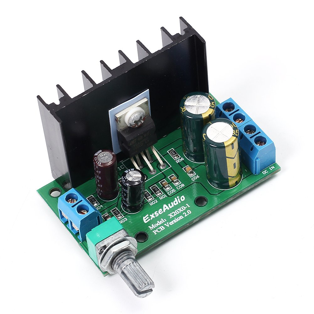 Icstation Tda2050 25w Mini Mono Digital Audio Amplifier Figure 1 Typical Hifi Schematic Power Amp Board With Volume Adjustable Knob Pack Of 2 Industrial Scientific