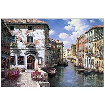 Amazon.com: Beautiful Modern Art Watercolor Painting Color Italy ...