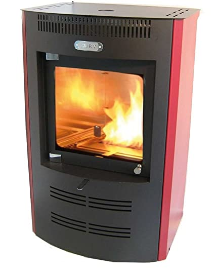 Estufa de bioetanol electrónica modelo TX 325 Color Rojo