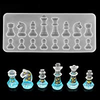 Silicone International Chess Piece Jewelry Making Mold Crystal Jewellry Resin Epoxy Casting Mould Craft Chocolate Molds…