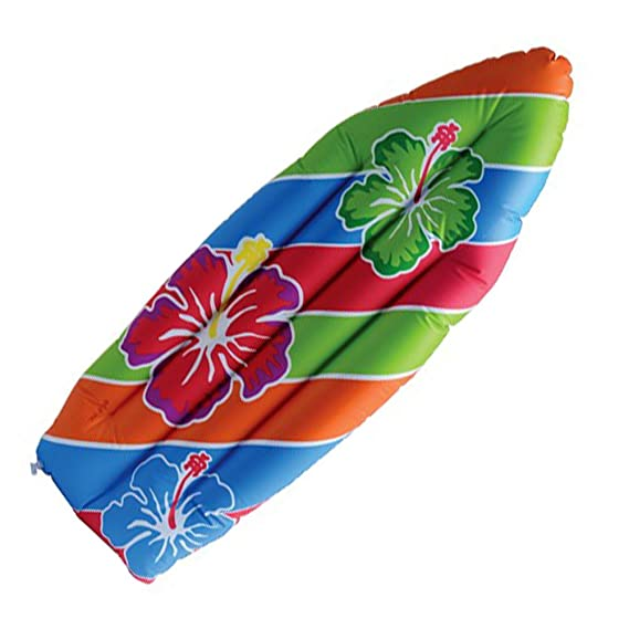 Amazon.com: Hinchable Flores Hawaianas Imprimir Tabla de ...