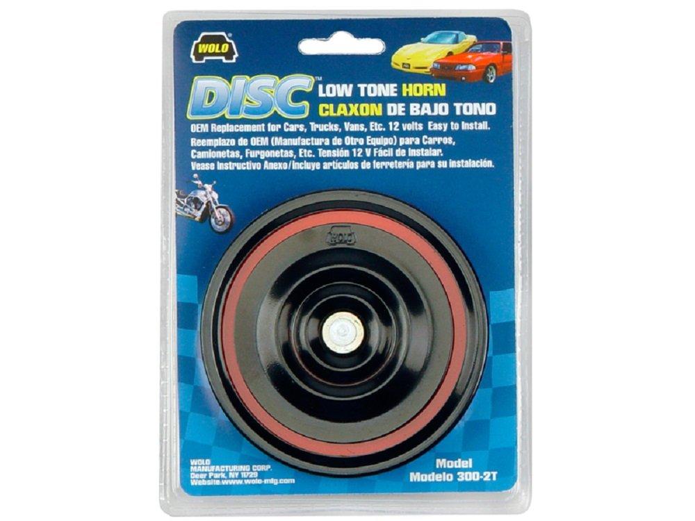 Disc Horn 12 Volt High Tone Wolo 305-2T