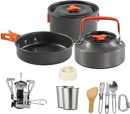 Utensilios de cocina para camping Juego De Mezcla De ...