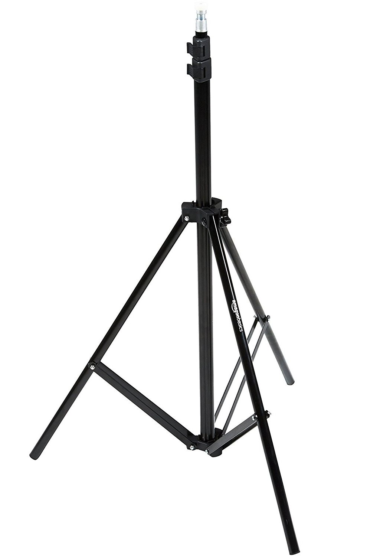 AmazonBasics Aluminum 7-Foot Light Stand with Case