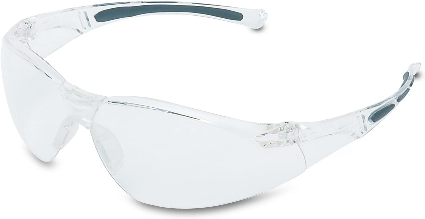 UVEX by Honeywell A805 Series Safety Eyewear Clear Lens with Fog-Ban Anti-Fog Coating, CLEAR-Anti-Fog Coating - Eye Protection Equipment -