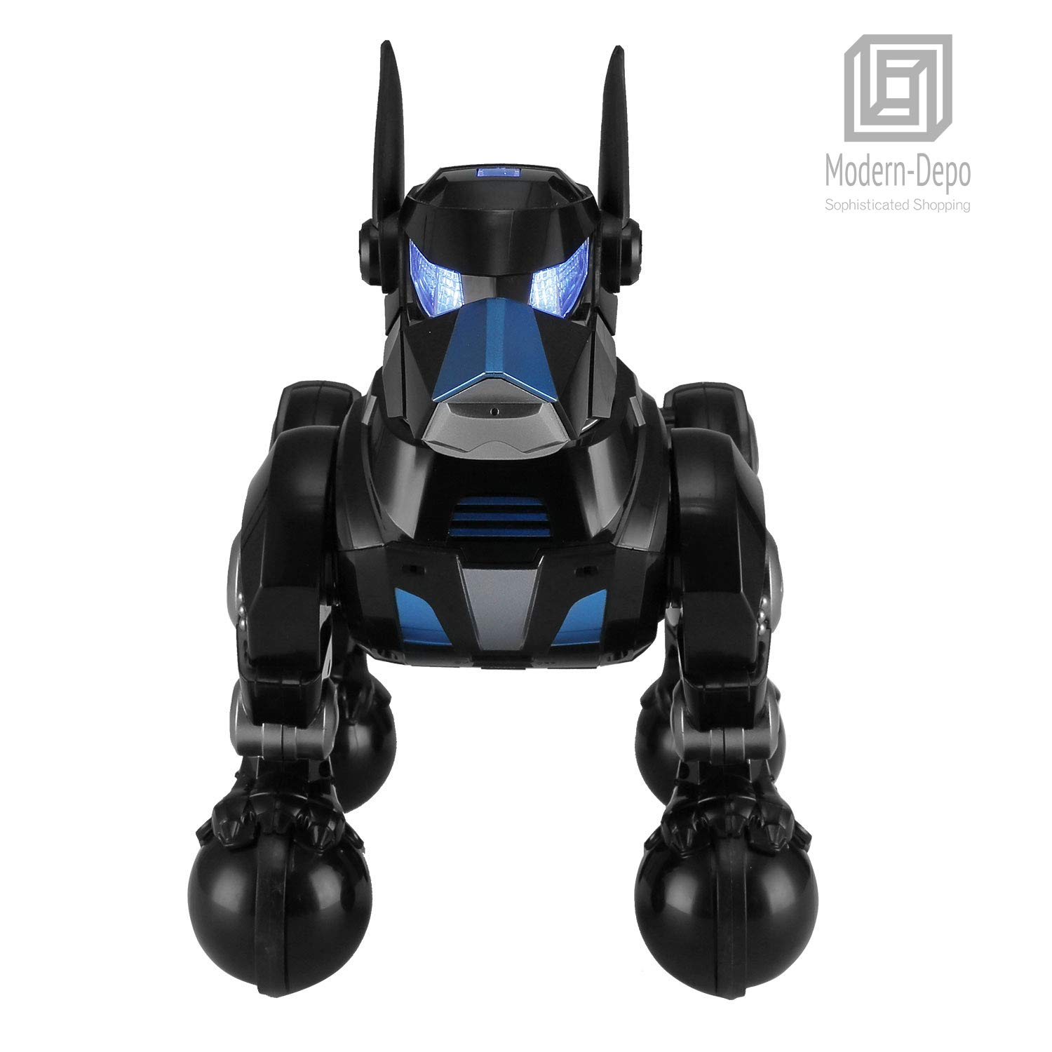 Modern-Depo Rastar Intelligent Robot Dog with Remote Control for Kids, USB Charging, Dancing Demo - Black by Modern-Depo (Image #2)