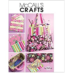 McCall's Patterns M5722 Satchel, Circular Knitting Needle Organizer and Pouch, One Size Only