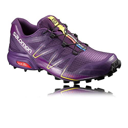Salomon L38309000, Zapatillas de Trail Running para Mujer, Morado (Cosmic Passion Purple/Black), 45 1/3 EU: Amazon.es: Zapatos y complementos