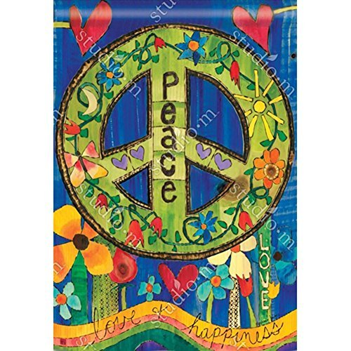 Magnet Works House Flag - Peace Everywhere