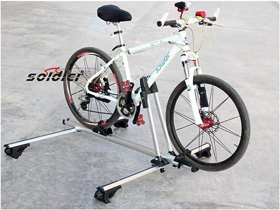 Bicicleta Vertical SUV Techo Rack Bloqueo Bicicleta Soporte ...
