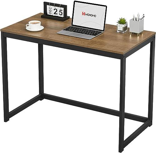 WOHOMO Small Computer Desk 39 Simple Modern Desk