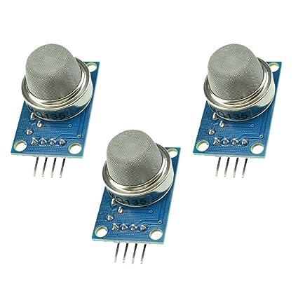 Aideepen 3pcs MQ135 MQ-135 Air Quality Sensor Hazardous Gas Detection  Module for Arduino