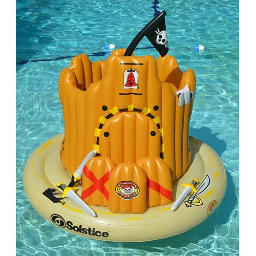 Swimline Pirate Island Pool Float product image