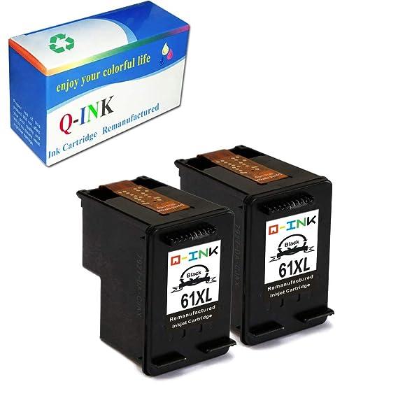 Ink Choice - Cartuchos de tinta para HP 61 X L negro CH561WN ...