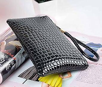 Portefeuille Femme Cuir Guess Pas Cher Petit Format Wallet Porte-Monnaie Bourse Sacoche Hydror/éSistante Exquis Sac de Cabas Noir
