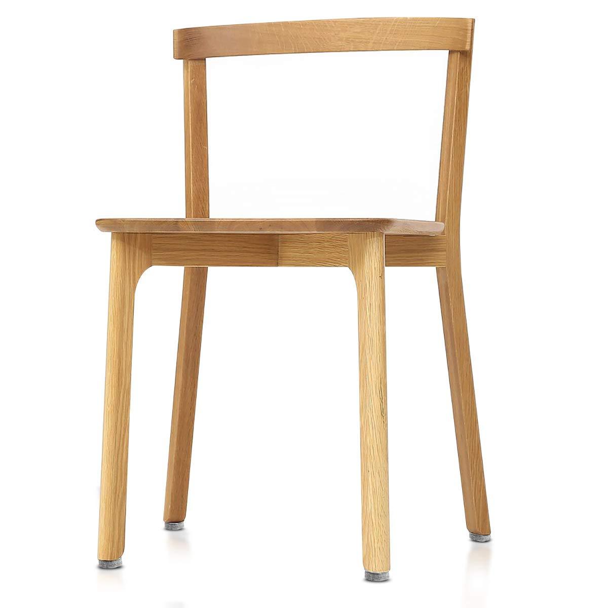 Amortiguador para muebles Tacos estilo alfiler para sillas y muebles Redondos de 24MM Navaris pack 20 almohadillas de fieltro para sillas