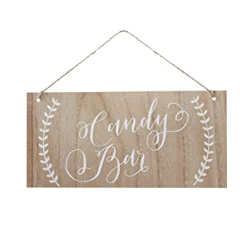 Boho - Candy Bar Wooden Sign
