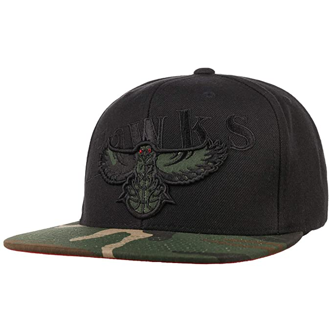 Mitchell & Ness Gorra Camo Brim Hawks& de Baseball NBA Cap (Talla ...