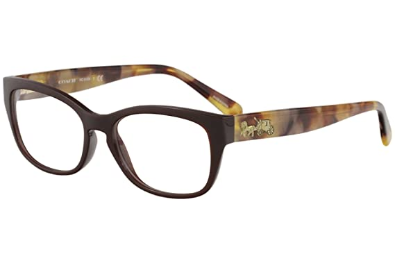 a0ef7e68696 Image Unavailable. Image not available for. Color  Eyeglasses Coach HC 6104  5531 DARK ...