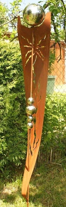 Rost Garten Gartendeko Rost Stecker Rostsaeulen Mit 5