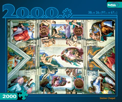 Sistine chapel ceiling puzzle
