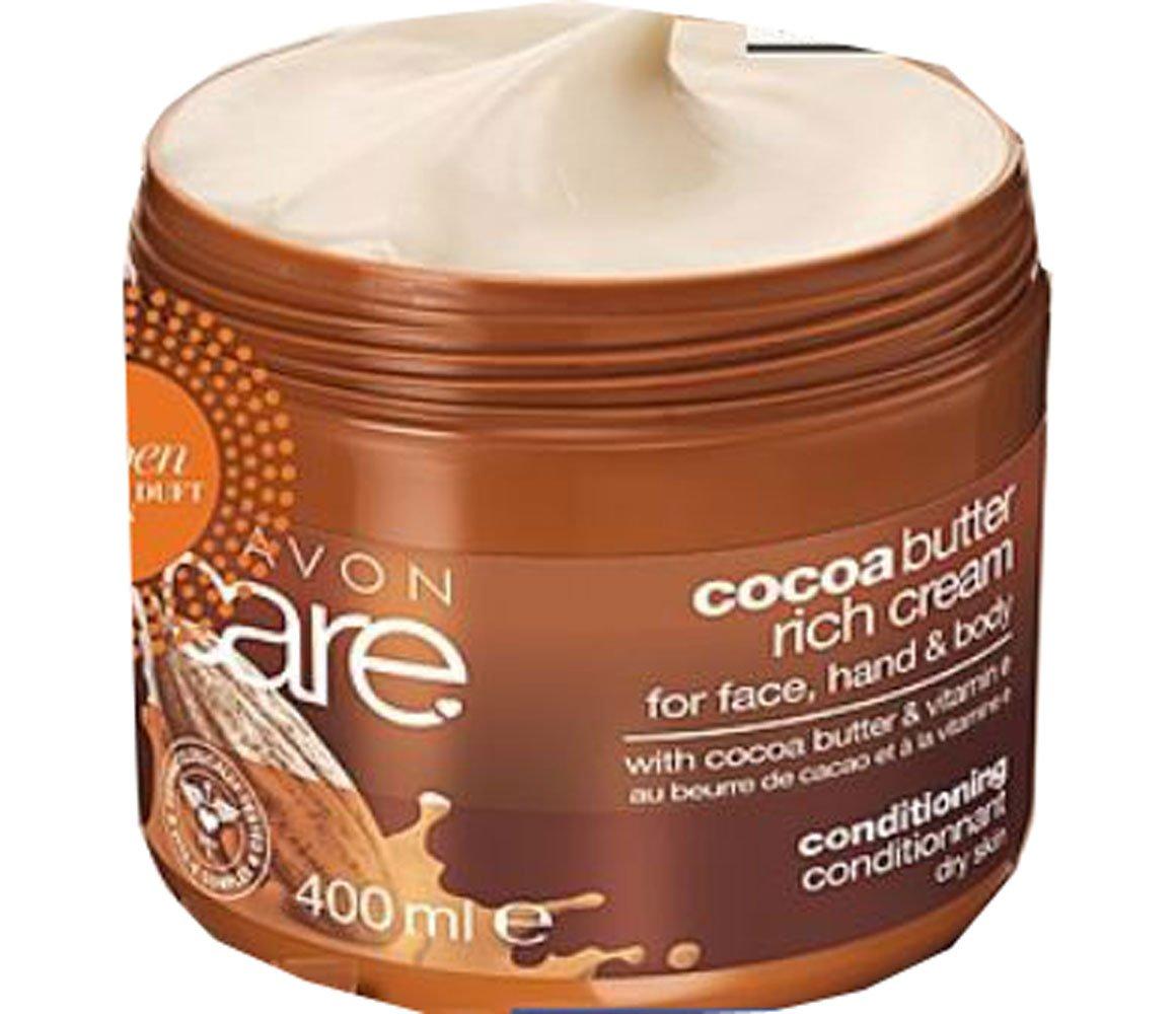 Avon Care Crema Al Burro Di Cacao XL misura 400ML Viso Corpo Mani