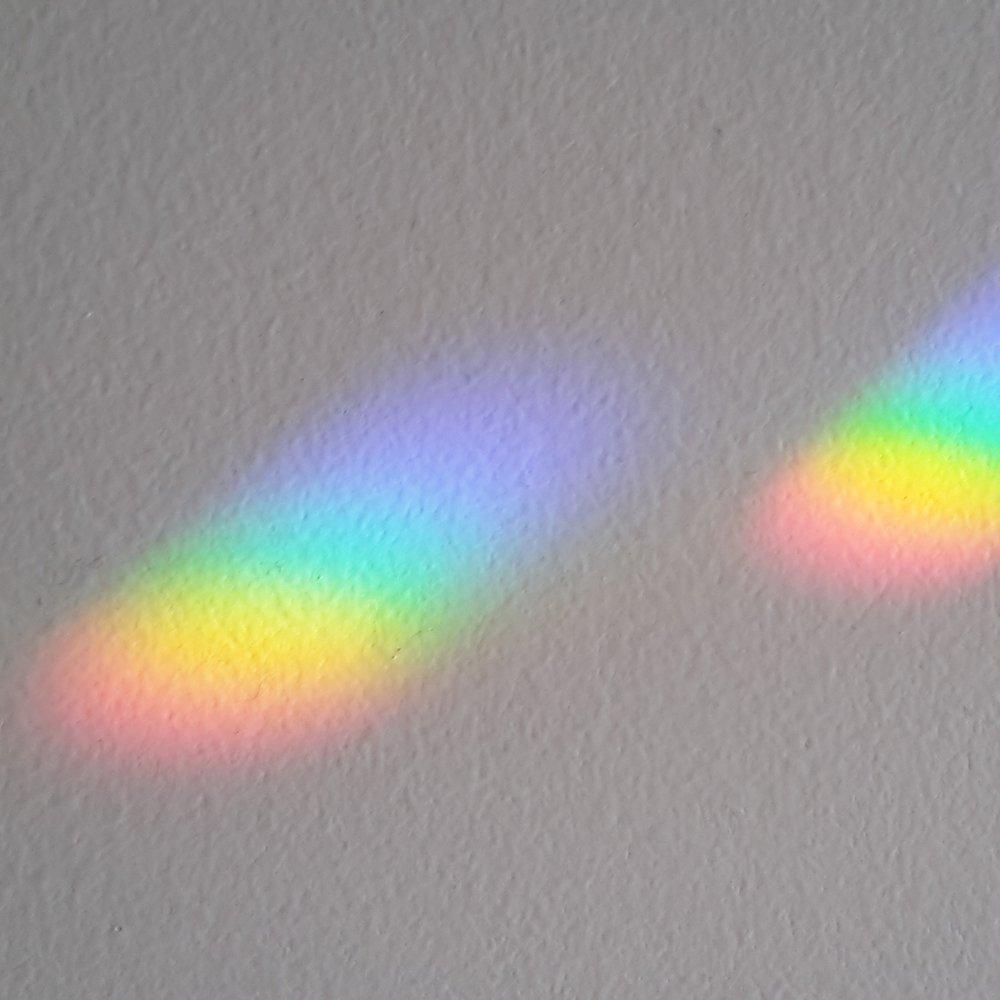 /30/% PbO plomo Cristal koppen 14/mm 2/agujeros 10/pieza Crystal Octagon arco iris Cristal/