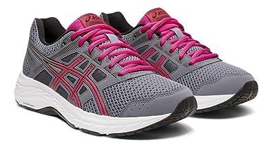 16fa92f971e7f ASICS Gel-Contend 5 Women's Running Shoes, Metropolis/Fuchsia Purple, 8 W US