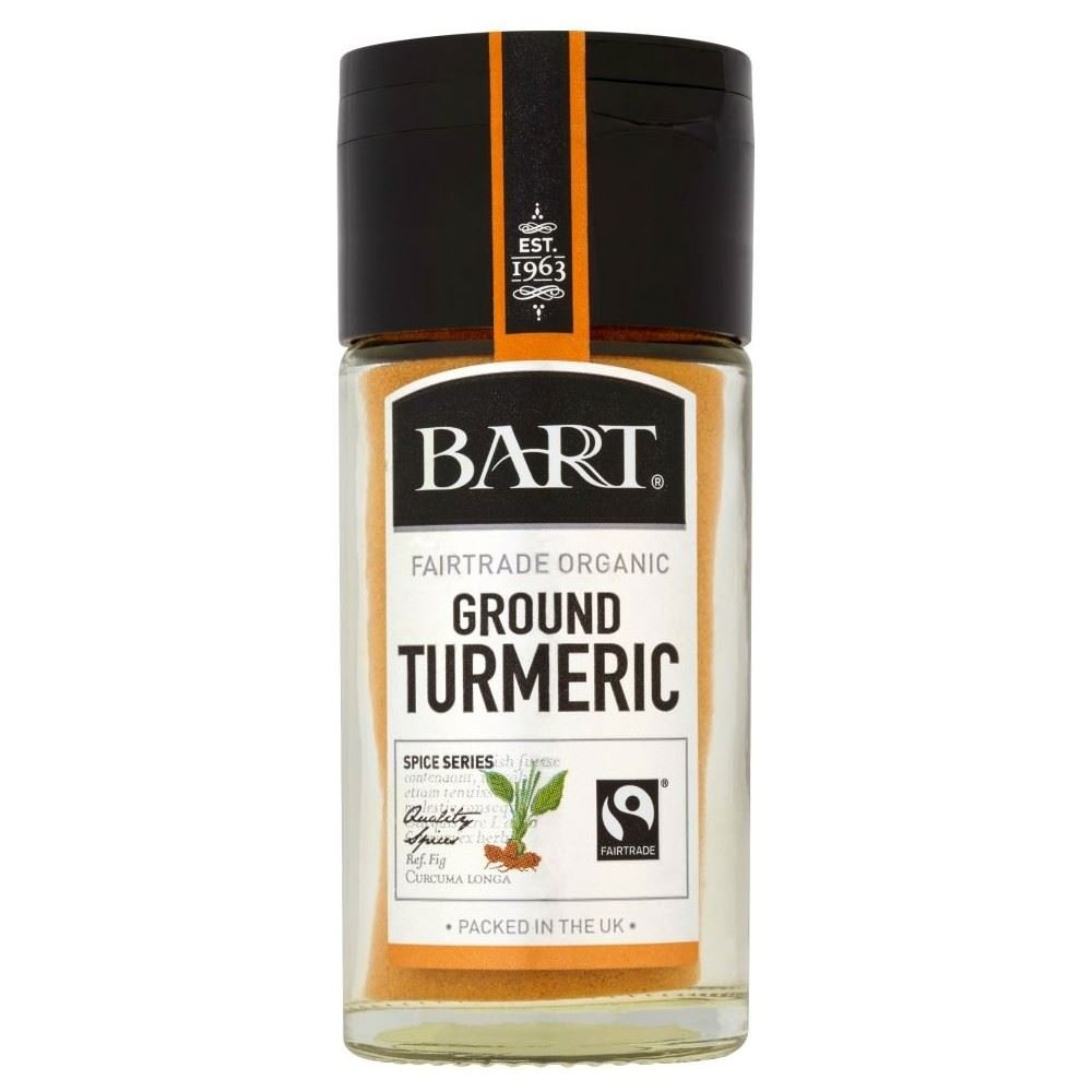 Bart Fairtrade Ground Turmeric (36g) - Pack of 2