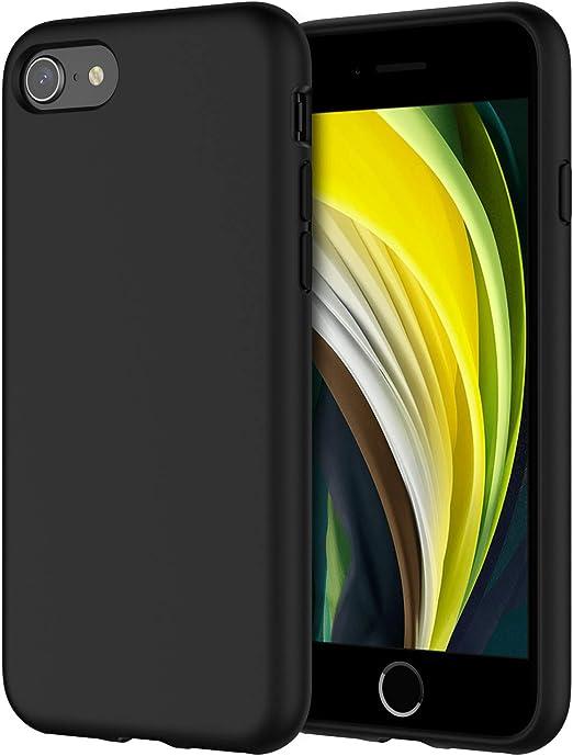 JETech Coque en silicone pour iPhone SE 2020, iPhone 8 et iPhone 7 ...