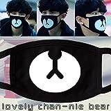 SoltreeBundle Unisex Exo Black Mask BANGTAN BOYS