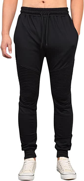 KUULEE Pantalones Hombre Largo Pantalones Casuales Jogger Chándal ...