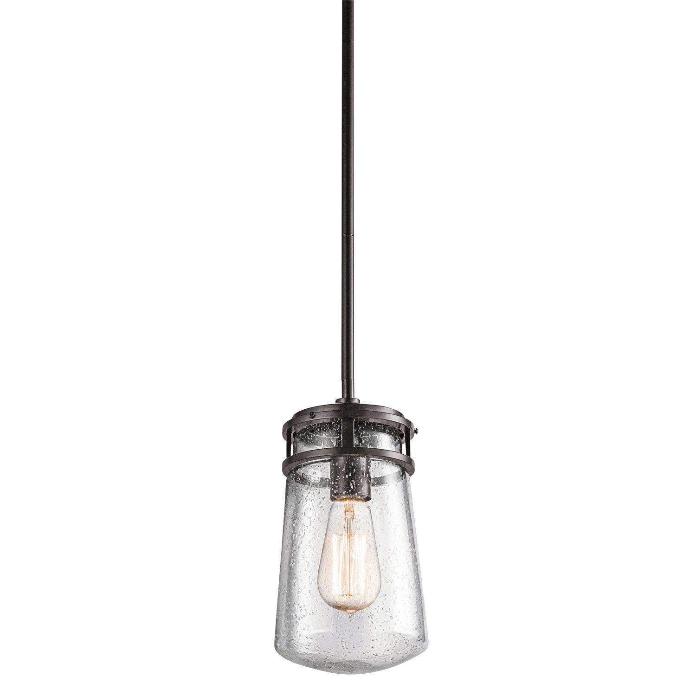 Kichler 49447AZ One Light Outdoor Pendant by Kichler Lighting