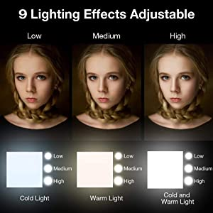 Selfie Ring Light Mobile Phones Camera, Clip on Cell Phones,Premium LED Bulbs Compatible iPhone, iPad, Sumsung Galaxy, Photography Phones, Tablet, Lap
