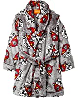 Paw Patrol Toddler Boys Fire Marshall Plush Bathrobe Robe Pajamas