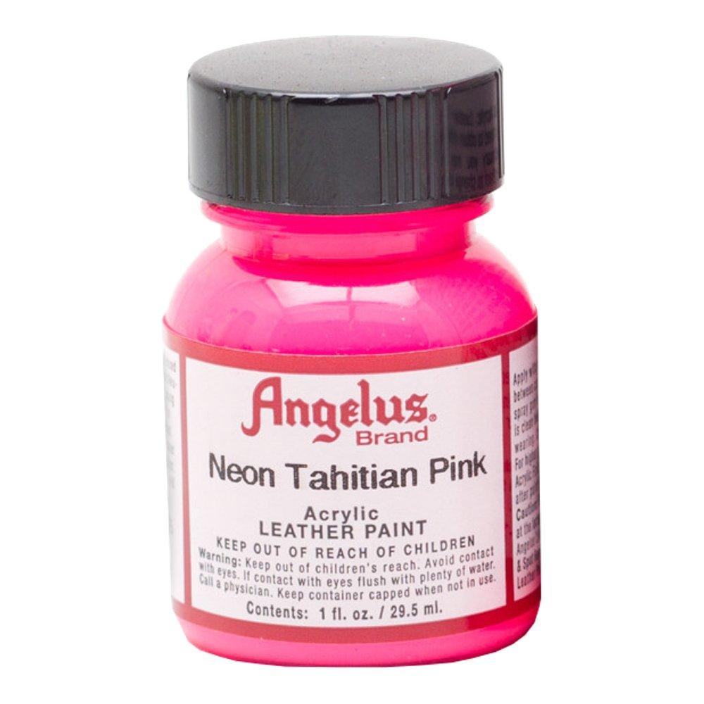 Angelus Pintura acrílica para cuero Neon Tahiti Pink 29.5ml