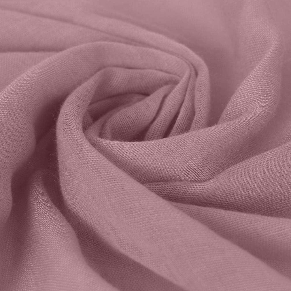 KAVINGKALY Frauen langer Schal Volltonfarbe gro/ße schiere Schal Wraps f/ür den Abend