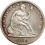 1859 O Liberty Seated Half Dollars Half Dollar VF30 PCGS