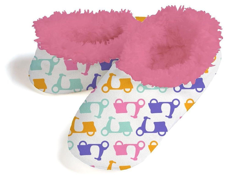Snoozies Womens Comfy Soft Whimsy Sherpa Fleece Slipper Socks